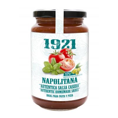 SALSA NAPOLITANA ``AUNTENTICA SALSA CASERA´´ 370GR 1921