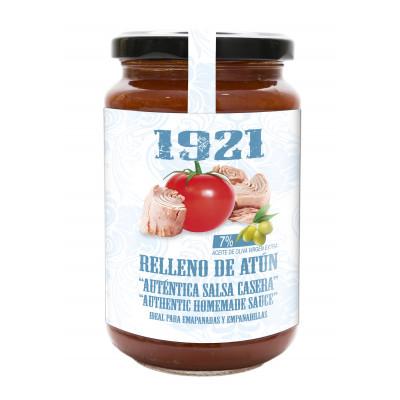 SALSA RELLENO DE ATÚN ``AUNTENTICA SALSA CASERA´´ 370GR 1921