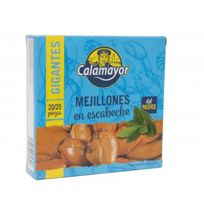 MEJILLON DEL PACIFICO EN ESCABECHE RO-550 (20/25) CALAMAYOR