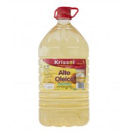 ACEITE GIRASOL ALTO OLEICO 80% PET 5L KRISSOL