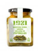 STUFFED GREEN GORDAL OLIVES WITH GUERKINS
