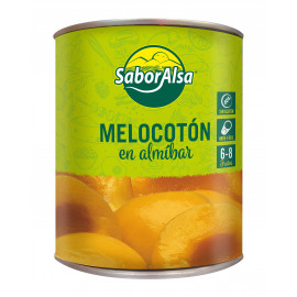 PEACH IN SYRUP - HALF - EXTRA can 1Kg (6/8)