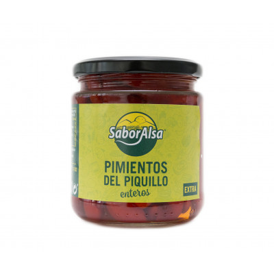 WHOLE PIQUILLO PEPPER EXTRA jar A-370